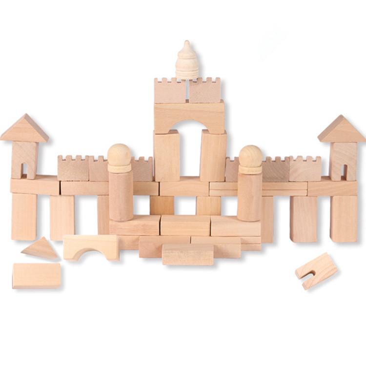 Children 's Early Educational Toys Barrels Wooden Forest Castles Block Building Blocks Baby Buildings Castle baby boy girl toys hot sale 1000g dynamic amazing diy educational toys no mess indoor magic play sand children toys mars space sand