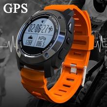 S928 profesión gps smart watch deportes al aire libre a prueba de agua con presión monitor de ritmo cardíaco para el iphone ios8.0 android4.3 anterior