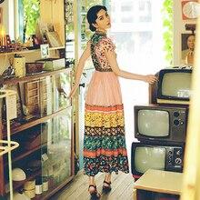 فستان كاجوال أنيق طباعة فراشات