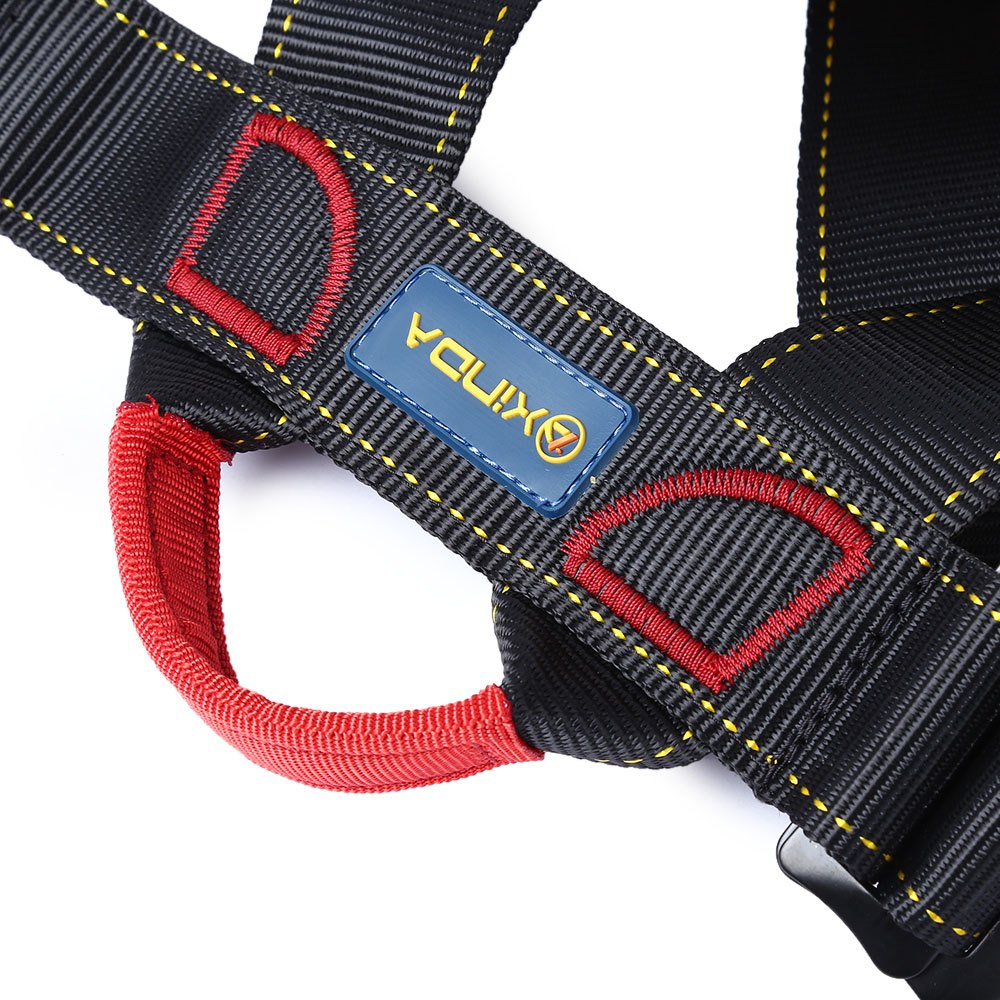 Outdoor Climbing Rock Safety Belt Equipment Wiring Harness Descent Snow Dog Hd In Rope Double With Bag For The Transportation Security Tools From