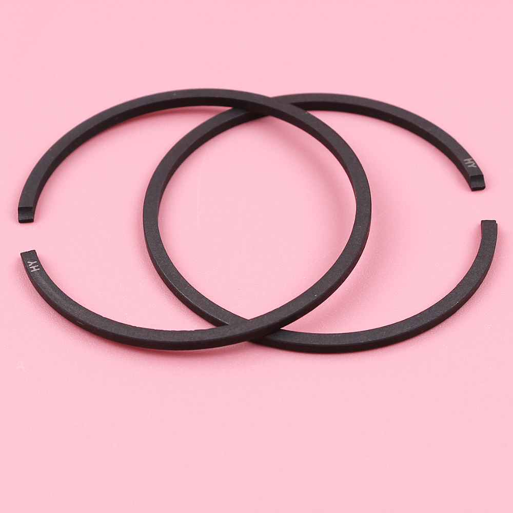 2pcs 38mm X 1.5mm Piston Rings For Poulan PP230 PP210 1950 2050 2055 2075 2150 2250 Chainsaw Parts