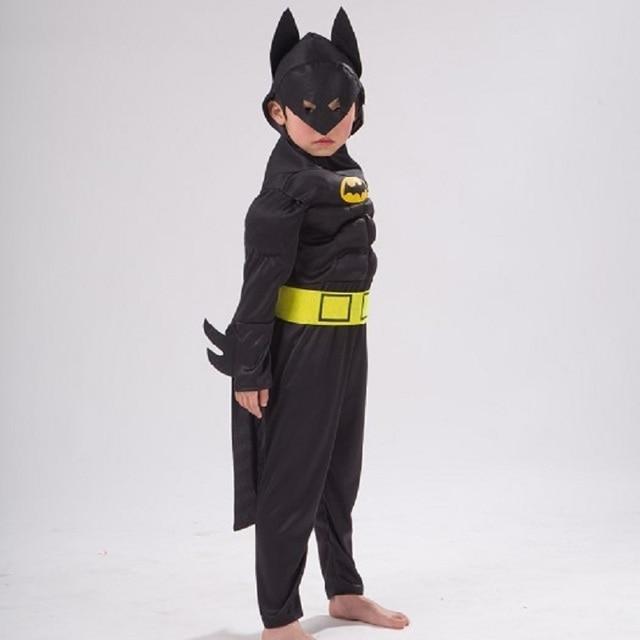 superhero masks avengers child fantasia cosplay girl children boys batman cosplay costumes kids muscle halloween costume girls