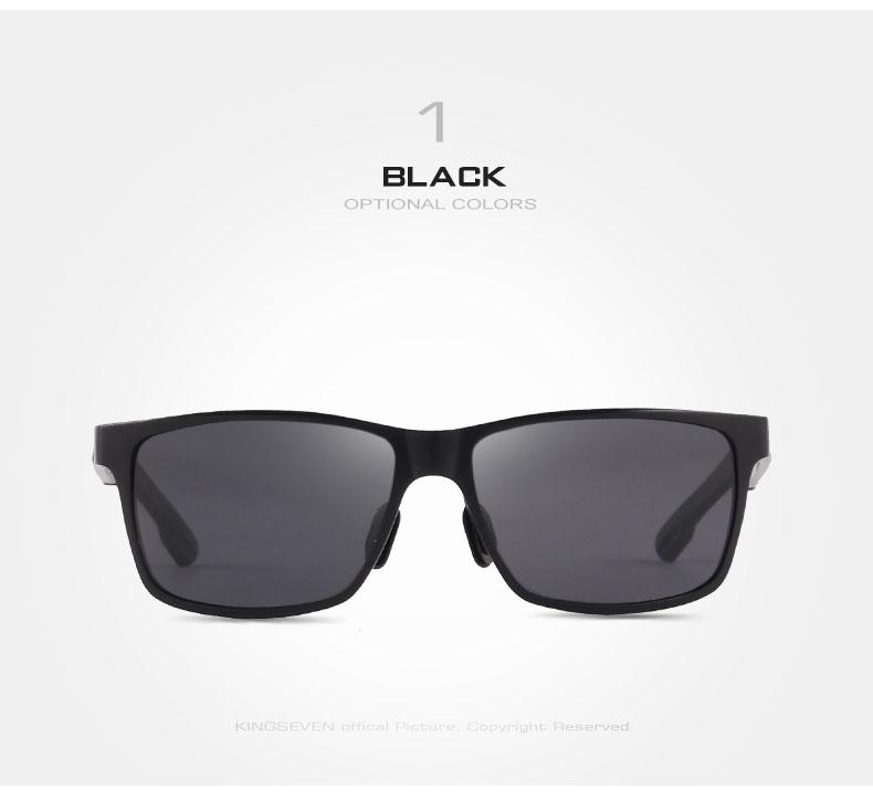 2017 New KINGSEVEN Polarized Sunglasses Men Brand Designer Male Vintage Sun Glasses Eyewear gafas oculos de sol masculino N7180 5