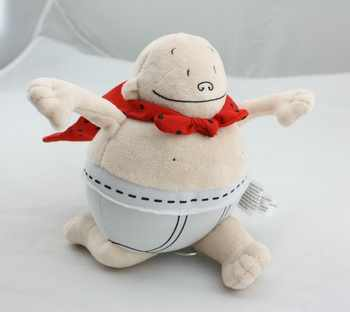 Dan Pilkey Captain Underpants Merry Makers 2002 Plush Stuffed Doll Book Toy 8
