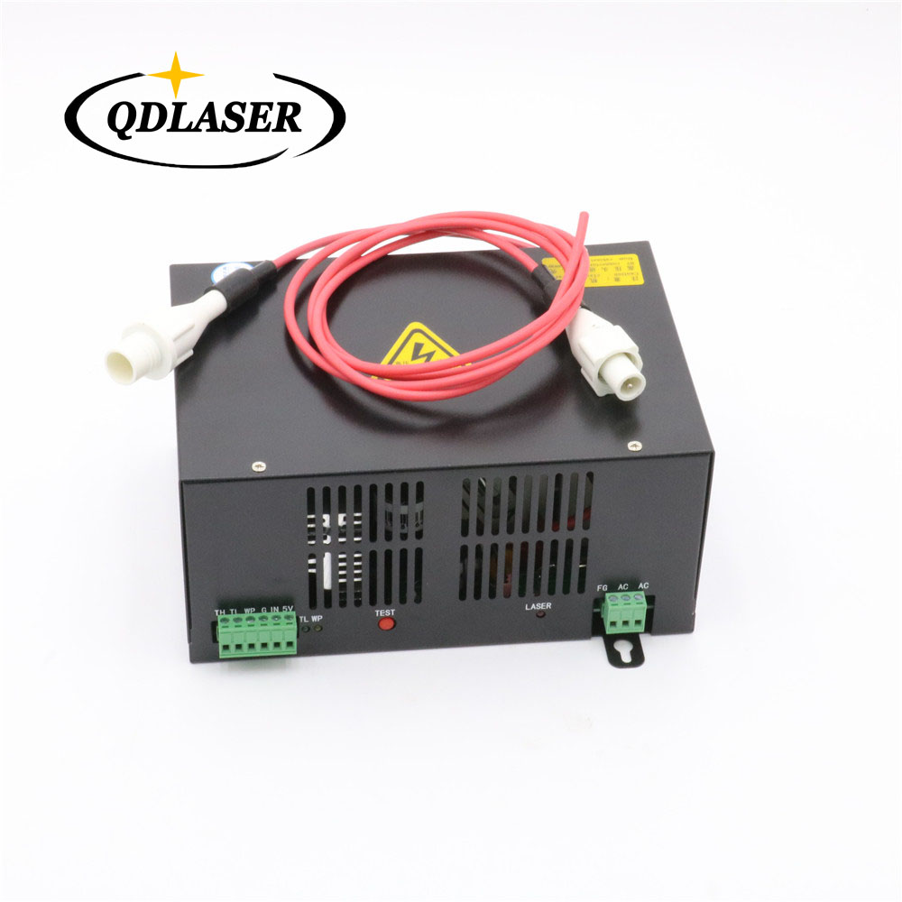 40W 50W CO2 Laser Power Supply for CO2 Laser Engraving Cutting Machine HY-T40 T50 co2 laser machine laser path size 1200 600mm 1200 800mm