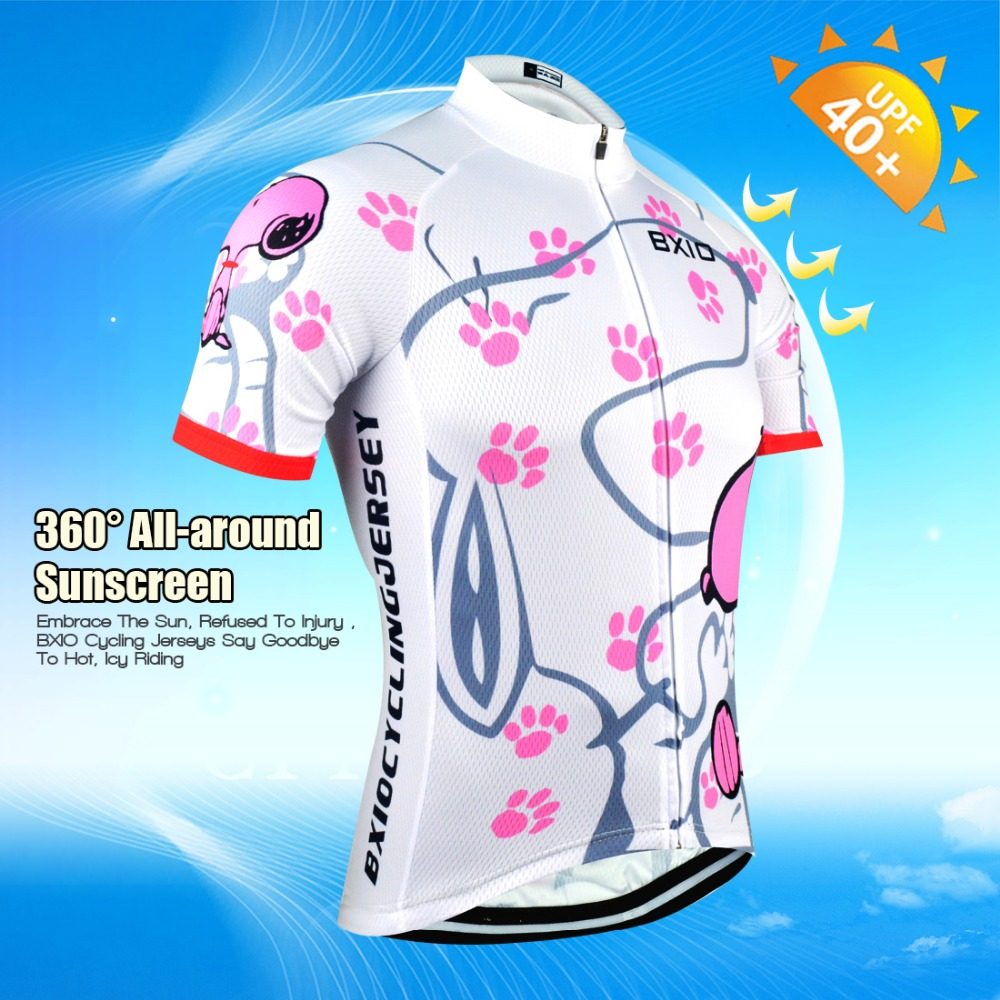 BXIO Marca Delle Donne Pro Cycling Jersey Ropa De Camisa Ciclismo Breve  Bici Del Manicotto Abbigliamento Sport Maglie Ciclismo Set BX 0209W021 in BXIO  Marca ... aea5f9e9455