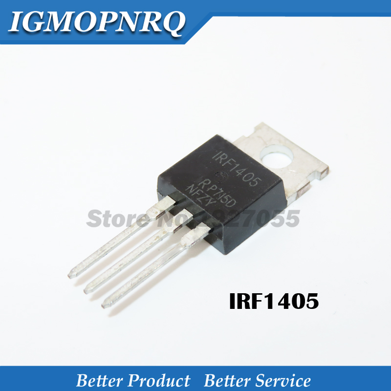 10PCS IRF1405PBF TO-220 IRF1405P TO220 IRF1405 New And Original IC