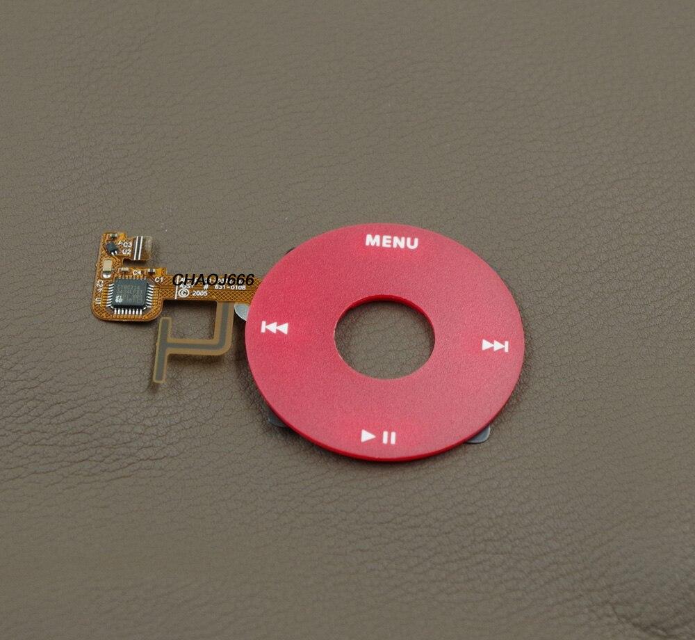 Gentile Colore Rosso Clickwheel Click Wheel Con Cavo A Nastro Della Flessione Per Ipod 5th Gen Ipod 5 Video 30 Gb 60 Gb 80 Gb U2 Edizione Speciale