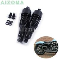 Motorcycles Rear Shocks Progressive Suspension Black 267mm/10.5 Absorber for Harley Sportster Touring FLH/FLT 80 17 Dyna 91 16