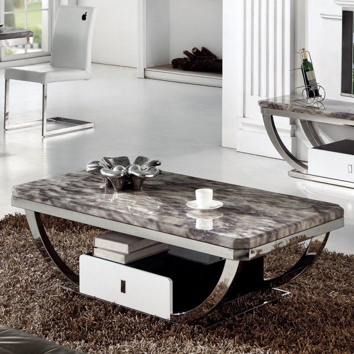 Coffee Table Painted Stainless Steel Coffee Table Fashion Creative Modern  Minimalist Coffee Table Drawer Coffin Coffee Tables From With Stubentisch  Wei With ...