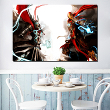 Marveles Aengers Thor Iron Man Canvas Painting Prints Living Room Artwork Home Decor Modern Wall Art Painting Posters Picture HD антон долин премьеры ла ла ленд закон ночи по млечному пути