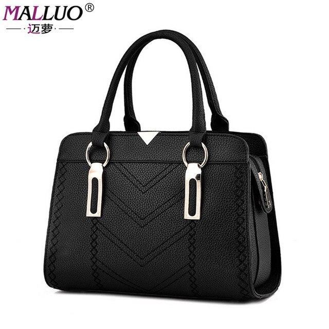 MALLUO Winter Women bags Handbag Women Messenger Bag Hot sale high quality Fashion Shoulder Bolsa Feminina Mujer New Arrive Bags