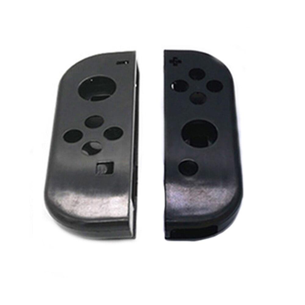 1 Juego de cubierta de la carcasa para el interruptor Nintend Joy Con el controlador de la manija cubierta de la carcasa de protección de reemplazo para el accesorio del interruptor NS