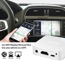 X7 Автомобильная беспроводная wifi зеркальная коробка HDMI ключ для iOS Android телефон аудио видео Miracast DLNA экран зеркальное отображение в автомобиль