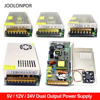 Dc 5V 12V 24V Dual Output Switching Power Supply 150W 200W 250W Dual Output DC Motor Power Supply 5V 12V 24V Two Sets of Output
