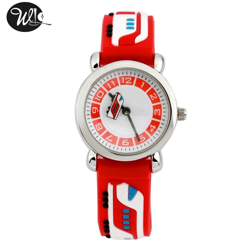 Children's watch boy 3D cartoon quartz watch child birthday gift waterproof watch learning time pointer watch