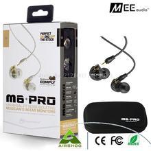 Nouveau écouteur Filaire MEE audio M6 PRO Universel-Fit écouteurs à Isolation Phonique In-Ear Monitors de Musicien casque avec la boîte de détail