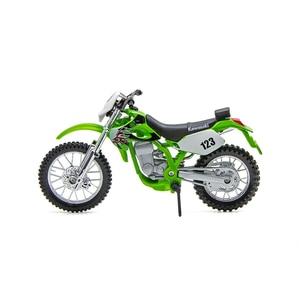 Image 2 - Maisto 1:18 Motorcycle Models Kawasaki KLX250SR KLX Diecast Plastic Moto Miniature Race Toy For Gift Collection