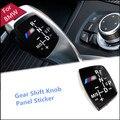 НОВАЯ Ручка Переключения Передач Панели Наклейки LHD модели В замена крышки чехол накладка для BMW//M E82 E90 E60 F10 F30 F34