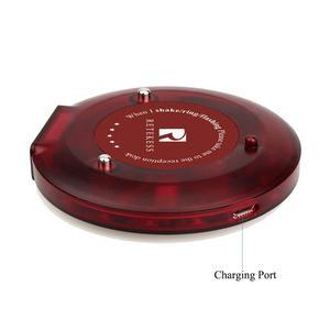Image 4 - 10 шт. пейджеры Coaster ресторанная Беспроводная система вызова официант 999 канал 433,92 МГц система очереди F3357A