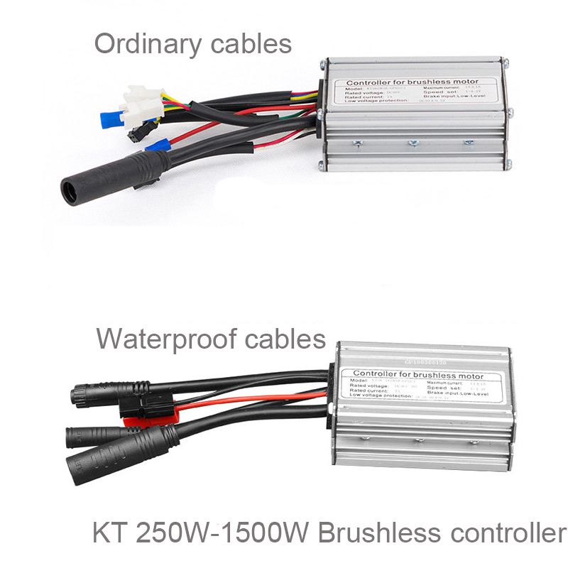 KT 36V/72V 250W/3000W Electric Bicycle Brushless Motor Controller DC Controller Electric Scooter e bike Motorcycle Accessories