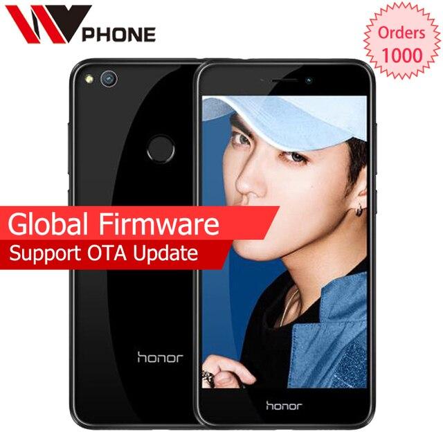 """Оригинальный Huawei Honor 8 Lite 4 г LTE мобильный телефон 3 г оперативной памяти 32 г KIRIN 655 Octa core 5.2 """"FHD 1920*1080 P отпечатков пальцев ID"""