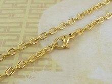 Collar de acero inoxidable para mujer y niña, accesorios, venta al por mayor, joyería de disfraz NFHAACEP