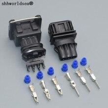 Shhworld Sea 1 комплект 3 Pin 3,5 мм Женская топливная заглушка распылителя/Штепсель для масляной форсунки/дроссельной заслонки для Bosch plug