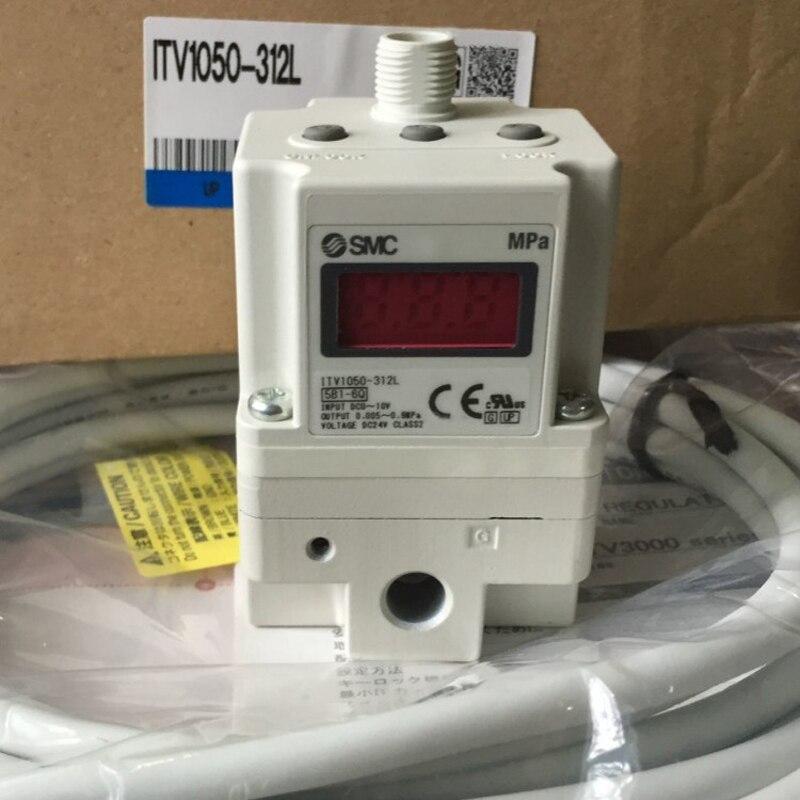 SMC Regulador De Vácuo Eletrônico/Electro-ITV1050-312L para Equipamentos de Controle De pressão De Ar Pneumático Regulador Pneumático