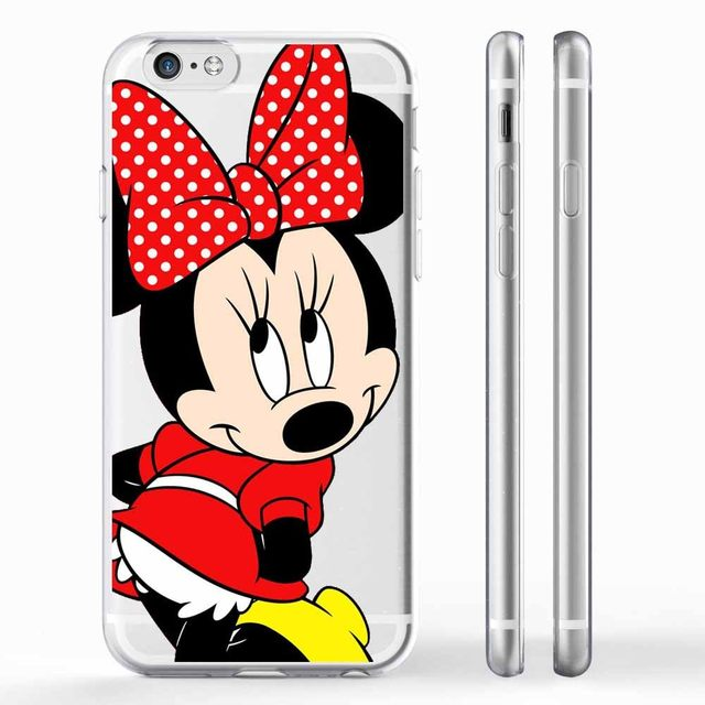 Mickey Minnie Mouse Women Phone Cases For Apple iPhone 6 6s plus 7 7plus SE  5 5S 8 8Plus X 10 Donald Daisy Duck Case Capa 6272f4853