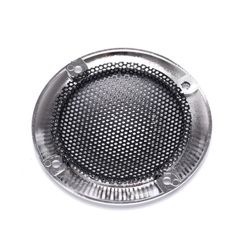 66 X 40.5mm DIY Arcade Cabinet Speaker Protective Grille Circle With Protective Black Iron Mesh Decorative circle