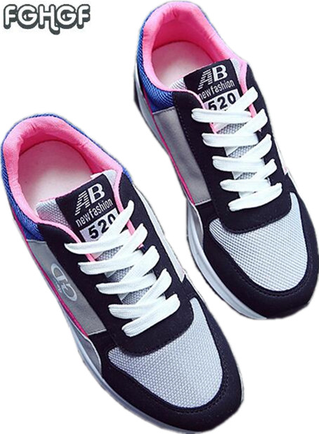 New Fashion spring Women black classic brand shoes ladies ourdoor casual shoes female mesh trainer laces tenis shoes flat free free shipping fashion loss weight women shoes spring summer autumn swing female breathable mesh shoes women casual shoes 2717w