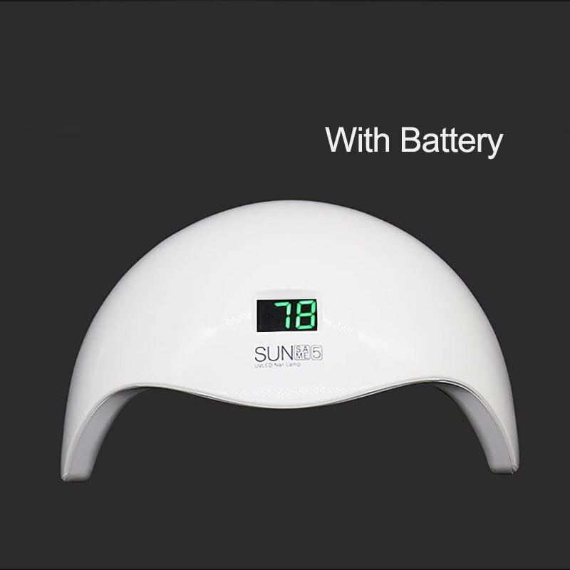 SUN 5S 48W White Light Professional LED&UV Lamp For Gel Machine Infrared Sensor Timer Set Gel All UV Gel Nail Polish Lamp CuringSUN 5S 48W White Light Professional LED&UV Lamp For Gel Machine Infrared Sensor Timer Set Gel All UV Gel Nail Polish Lamp Curing