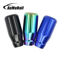 AuMoHall Universal Car Manual Gear Stick Shift Knob Shifter Aluminum Car Gear Shift Knobs
