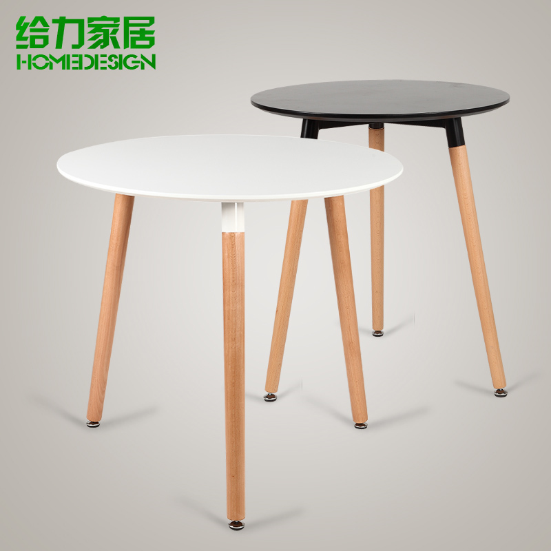 Small Wood Table And Chairs: Small Table Small Round Table Negotiating Table Fashion