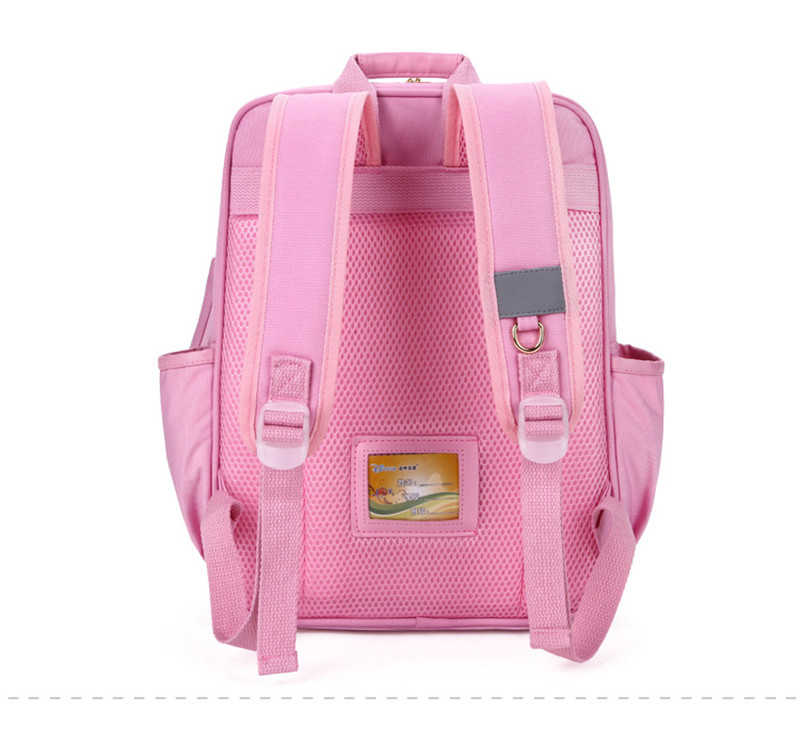 Ortopedyczne torby szkolne dla dziewczyny dzieci plecaki szkoły podstawowej uczniowie plecak wodoszczelny tornister klasy 1-3 dzieci mochila