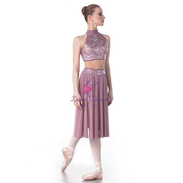 Dance Favourite 18005 New Sequin Lace Bodice Lyrical Dance Costumes  Ballerina White Bodicec Ballet Tutu Ballerina dance Costume 744f81d13b87