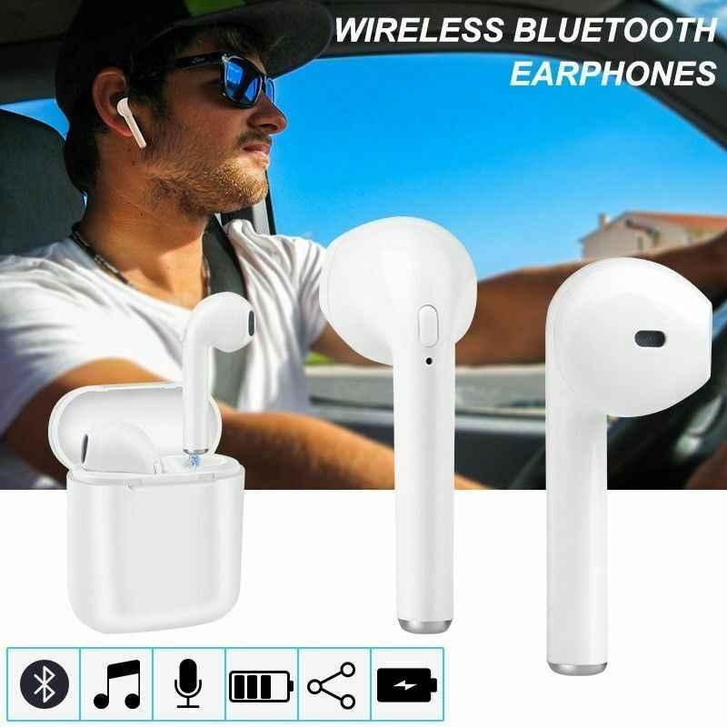 Nowy I7s TWS bezprzewodowe słuchawki Bluetooth z mini opłata box zestawy słuchawkowe słuchawki douszne do iPhone'a X 6 7 8 plus Samsung Xiaomi Huawei LG