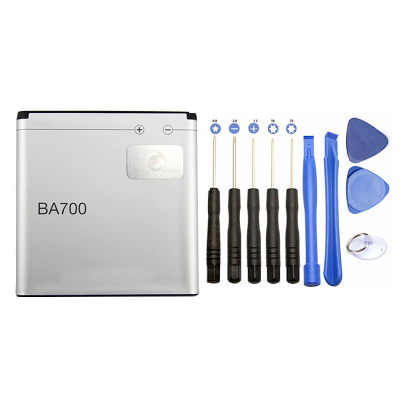 Tools with New Phone Battery BA700 1460mAh For Sony MT11i MK16i ST18i MT15i free shipping