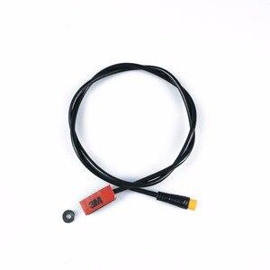 Image 4 - BAFANG piezas de Motor, Sensor de engranaje, pantalla, Cable de extensión USB, Cable de programación, divisor en Y, Sensor de palanca de cambios de freno, acelerador de giro, luz de 6V