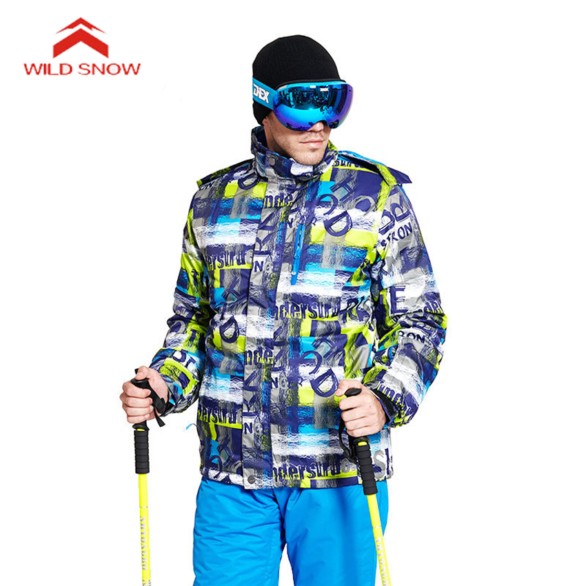 Winter Ski suit Men Ski Jacket Snow Male Warm Waterproof Windproof Skiing And Snowboarding Suits Outdoor Camping Mountain Skiing 2018 new lover men and women windproof waterproof thermal male snow pants sets skiing and snowboarding ski suit men jackets