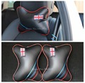 winter gift carbon fiber car pillow bolster Auto Car Neck Pillow Seat Cushion Covers car styling 2pcs/set