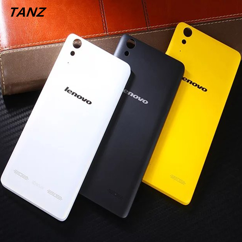 TANZ Top Plastic Back Battery Cover Housing Replacement Parts Case for Lenovo K3 A6000 K30-T k30-W