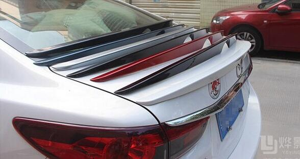 Abs rear spoiler car trunk lip auto boot wing spoiler fit for Wing motors automobiles miami fl