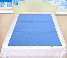 90×140 СМ Япония Прохладный Гель Колодки Лето Шелк Льда Охлаждение Матрасы Магия Складной Спальня Коврики