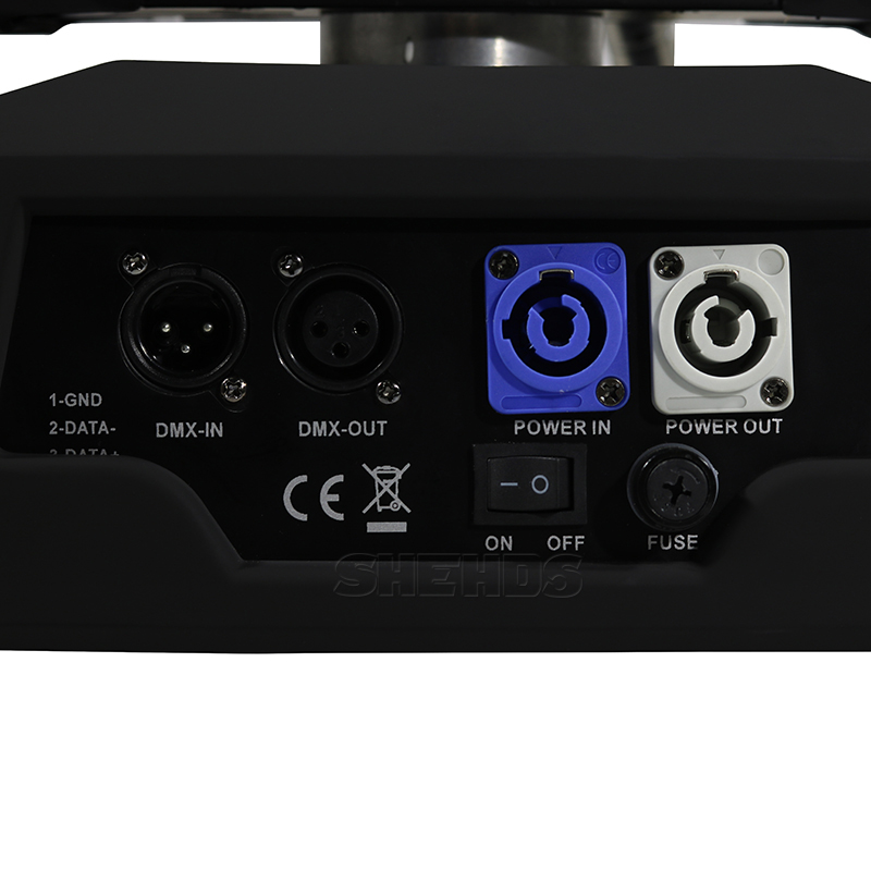 Free Shipping LED 36x18W Led Zoom Moving Head 6in1 RGBWA UV Wash DMX Controller For NightClub DJ Disco Party Wedding Decoration