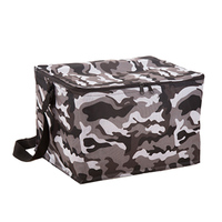 20L Solid Thermal Insulated Cooler Bag Extra Large Picnic Lunch Bag Box Trips BBQ Ice Pack