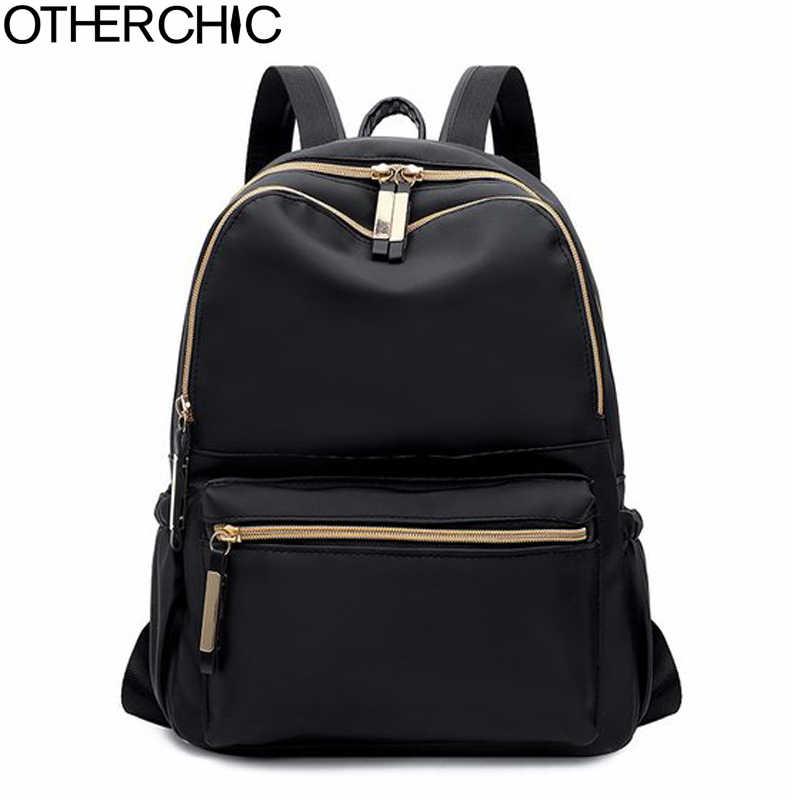 9e833529a52d Подробнее Обратная связь Вопросы о OTHERCHIC Модные женские простые рюкзаки  черный Оксфордский рюкзак для девочек подростков Sac A Dos Femme женский  ранец ...