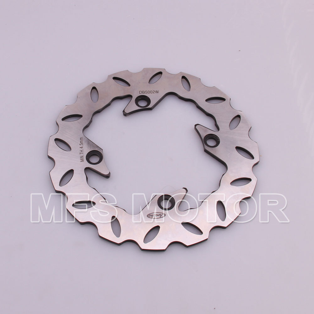 Rear Brake Discs Rotor For Honda CBR600 F2 F3 F4 F4i 1991-2007 CBR600RR F5 2003-2014 92 93 94 95 96 97 98 99 00 01 02 03 Black mf2300 f2