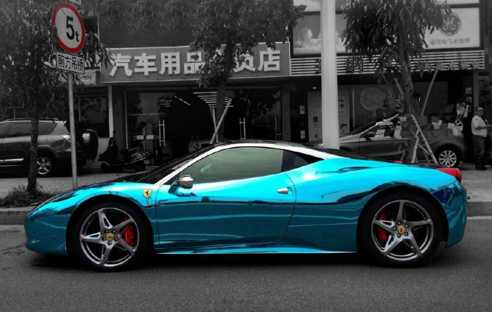 152x30cm Car Change Color Film Diy Car Sticker Plating Coating